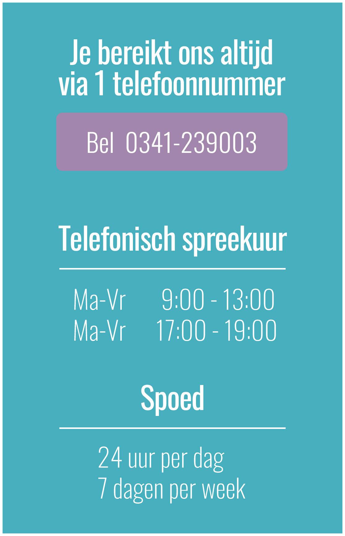 Telefoonnummer verloskundige Harderwijk